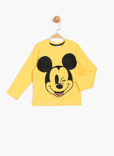 Mickey Mouse Sweatshirt Sarı